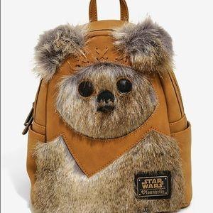 Star Wars Ewok loungefly mini backpack